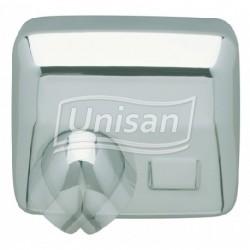 Secador de Mãos Ouragan Inox Brilhante